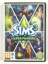 Jeu Les Sims 3 Super-pouvoirs (pouvoir) / Disque Additionnel Sur PC (clé valide