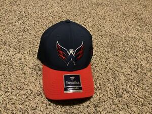 Washington Capitals NHL Hockey Fanatics StretchFit  Hat Men's Size:  M/L