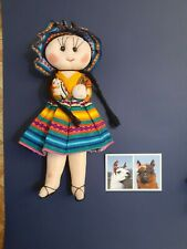 Bolivian doll and Bolivia photography