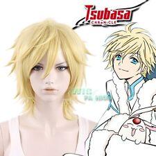 Tsubasa: Reservoir Chronicle Fay D. Flourite Short LightBlonde Anime Cosplay Wig
