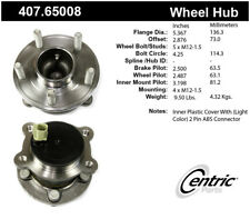 Wheel Bearing and Hub Assembly-Premium Hubs Rear Centric 407.65008