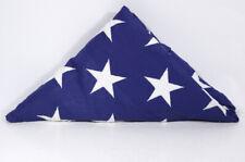 USA American US Folded Memorial Flag Triangle