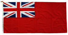 More details for red ensign traditionally sewn mod approved woven flag fabric uk merchant civil
