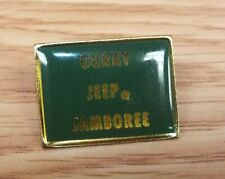 Unbranded Ouray Jeep Jamboree Green & Gold Tone Enamel Collectible Pin