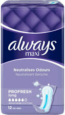 always maxi Pro Fresh Long Neutralisiert Gerüche Damenbinden 12 Binden