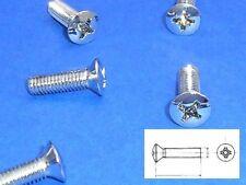 Chromschrauben Einfassung Schloß MERCEDES R 107 bis Bj. 85 W123 W126