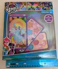 My Little Pony Cosmetic Set w/ Rainbow Dash Case Lip Gloss Palette NEW