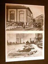 Torino nel 1902 Sciopero dei gasisti Cambio guardia dormitorio + Parigi Turchi