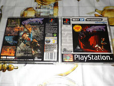 "PS1 "" HEART OF DARKNESS "" PLATINUM"