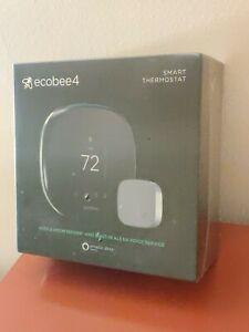 NEW Ecobee4 Programmable Smart Home Thermostat + Room Sensor + Alexa / BNIB