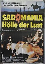 L24 - Sex / Erotik - SADOMANIA Hölle der Lust - Original Kinoplakat