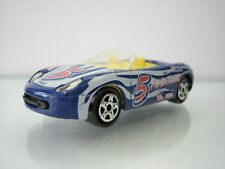 Diecast Majorette Porsche Boxster No. 219/220 Blue Very Good Condition