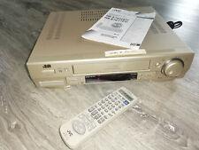JVC HR-S 7600eu/s-vhs/hi-fi con Ba e telecomando