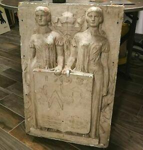 St Mandé GRAND Bas Relief Art Déco étude Bourdelle ? Vincennes