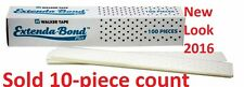 "EXTENDA BOND Adhesive Tape 1.5""X12"" 10-strips pack By Walker Tape"