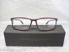 Original PORSCHE DESIGN Brille P´8228 Farbe D rot grau