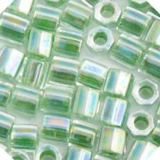 J99//11 Miyuki Delica seed beads Taille 8//0 DBL-0157 opaque crème AB 6.8 G Tube