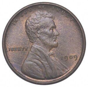 Gem Bu Unc 1909 VDB V.D.B. Lincoln Wheat Cent - First Year - Uncirculated *001
