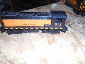 American Flyer 812 Texas & Pacific Locomotive Engine S Gauge Train