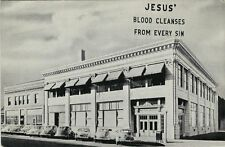 Old Postcard - Offices & Studios - Back to The Bible Broadcast - Lincoln NE