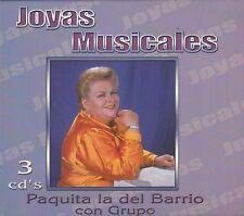 Paquita La Del barrio con el Grupo Joyas Musicales BOX SET New Nuevo sealed