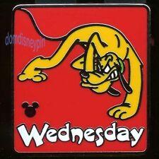 Disney Pin WDW 2013 Hidden Mickey Series *Days of the Week Pluto* Wednesday!
