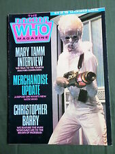 DOCTOR WHO MAG -MARY TAMM  - NO 99 - APRIL 1985