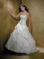 ALLURE  Wedding Gown #8350  New with tags