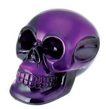 PURPLE shifter shift knob skull rat rod evil devil new