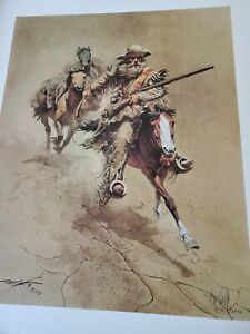 """""""An Old Time Mountain Man """" by Frank C. McCarthy L/E, SIGNED, MINT"""