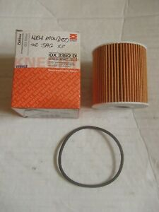 NEW MAHLE OX339/2D OIL FILTER For FIAT FORD JAGUAR LAND ROVER MINI VOLVO
