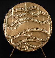 Médaille récompense de film cinéma movie award 1977 vierge à graver medal