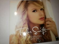 TAYLOR SWIFT - YOU BELONG WITH ME MCD PROMO RARE Cardsleeve 3$ shipping