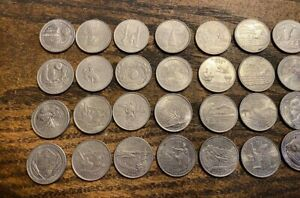 56 Quarter Lot. D and P. Various dates from 2000's.