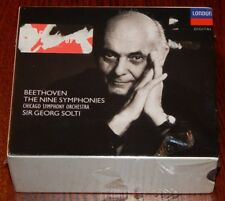 Beethoven: The Nine Symphonies/Solti ~ New 6-CD Box Set (Sep-1990, Decca (USA))