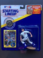 RYNE SANDBERG 1991 Starting Lineup Figure Bonus Coin & Card Chicago Cubs MLB