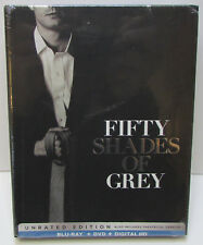 Fifty Shades of Grey Walmart Exclusive Blu-ray / DVD Digibook NEW / SEALED! 2