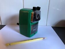 Vintage Carl Office pencil sharpener Angel 5 Royal made in Japan green