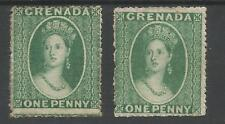 GRENADA SG4&5 1863-71 WAT STAR UNUSED ,NO GUM CAT £240