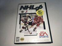 NHL 96 Hockey EA Sports SEGA—Read description —🔥FREE SHIPPING 🔥