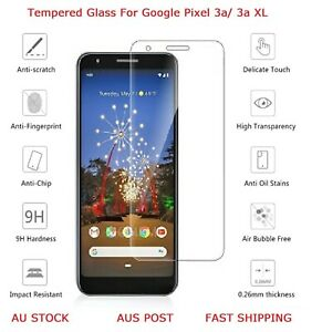2 Pack Tempered Glass Screen Protector For Google Pixel 3a / 3a XL Quality Glass