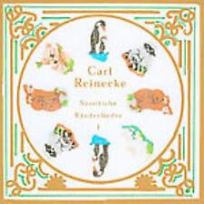 Carl Reinecke: Samtliche Kinderlieder Vol 1 w/ Artwork MUSIC AUDIO CD Classical