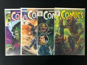 Lot of (4)  Dark Horse Comics #5 Aliens, #9 Robocop, #11 Godzilla & #12 Predator
