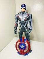 Marvel Hasbro Avengers Endgame Titan Action Hero Captain America Talking Shield