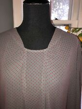 Ladies Lilith Gray Red Dot Size Small New with Tags