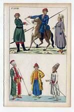 Ethnologie-Trachten-Asien - Kupferstich 1800 G. T. Wilhelm