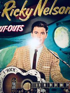 VINTAGE ORIGINAL 1959 RICKY NELSON PAPER DOLL MINT UNUSD WHITMAN RARE
