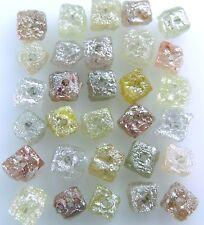 Natural Rough Rare raw loose Diamond Drilling cube mix color 3.00 ct lot