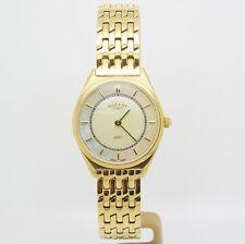 Señoras Rotary chapado en oro y de Madre Perla Reloj De Pulsera