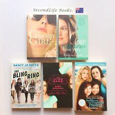 x5 FEMALE FASHION Novels ~ Gossip Girl Bling Ring Traveling Pants Lying Game.